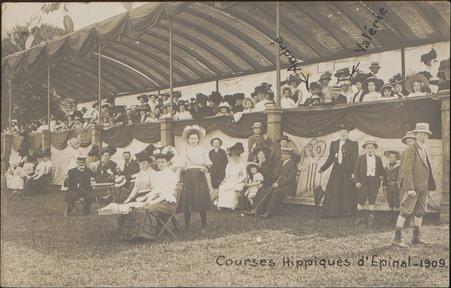 Courses Hippiques d'Épinal, 1909