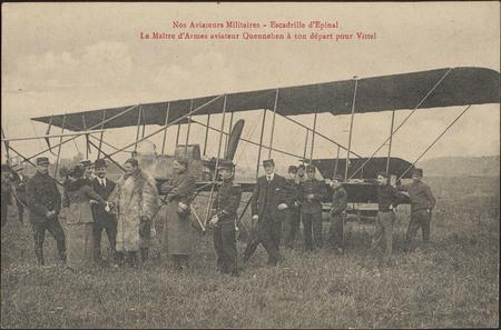 Nos Aviateurs Militaires, Escadrille d'Épinal, Le Maître d'Armes aviateur …