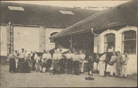 Épinal, 4e Chasseurs, La Forge