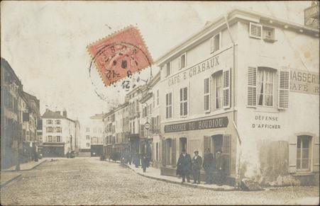 [Épinal, Café rue du Boudiou]