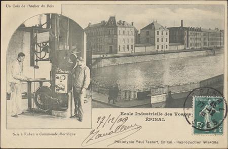 École Industrielle des Vosges, Épinal […]
