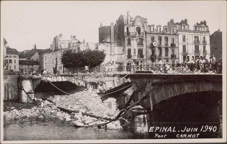 Épinal, Juin 1940, Pont Carnot