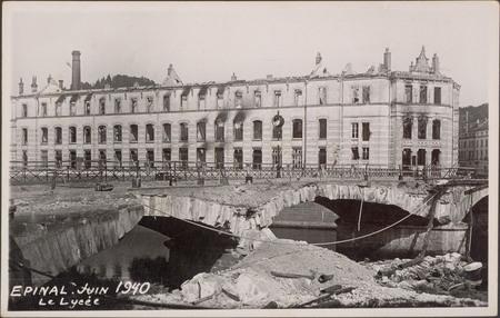 Épinal, Juin 1940, Le Lycée