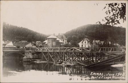 Épinal, Juin 1940, Pont de la Loge Blanche