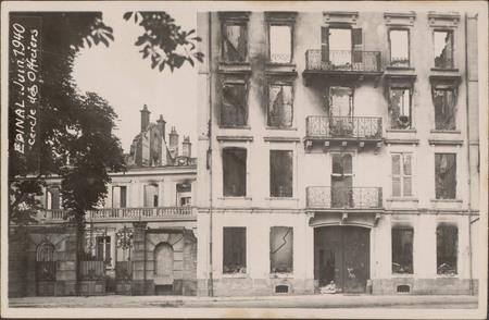 Épinal, Juin 1940, Cercle des Officiers