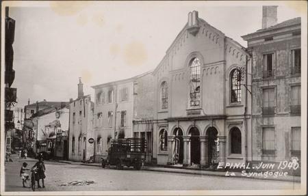 Épinal, Juin 1940, La Synagogue