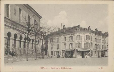 Épinal, École de la Bibliothèque