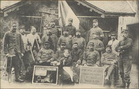 [Girmont, Groupe de soldats, 1914]