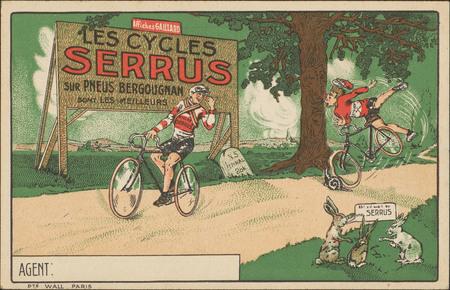 Les Cycles Serrus sur pneus bergougnan sont les meilleurs