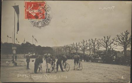 Épinal, Courses cyclistes 1906, Le Départ