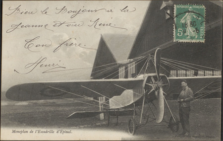 Monoplan de l'Escadrille d'Épinal