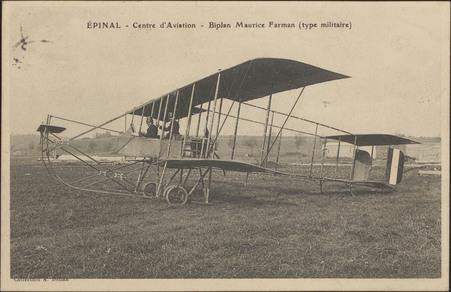 Épinal, Centre d'Aviation, Biplan Maurice Framan (type militaire)