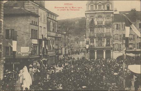 Épinal, Kermesse du 17 Mars 1912 au profit de l'Aviation