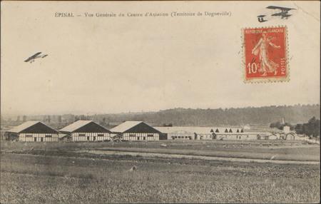 Épinal, Vue générale du Centre d'Aviation (Territoire de Dogneville)