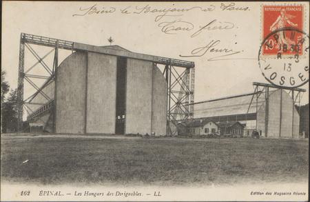 Épinal, Les Hangars des Dirigeables