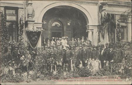 Épinal, Concours National de Musique 13-14-15 août 1904, La Diane de Porti…