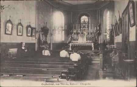 Orphelinat, Rue Thiers, Épinal, Chapelle