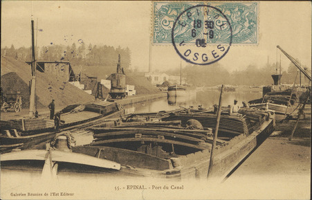 Épinal, Port du Canal