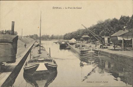 Épinal, Le Port du Canal