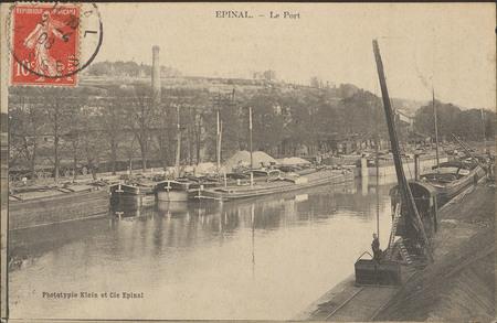 Épinal, Le Port
