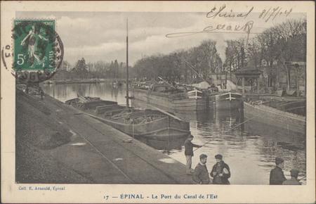 Épinal, Le Port du Canal de l'Est