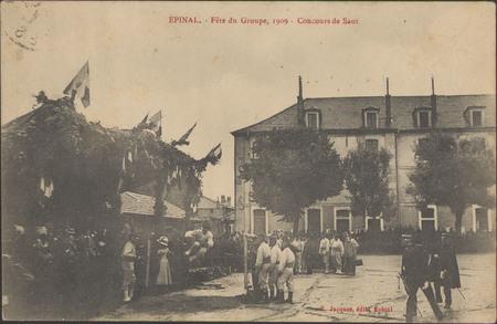Épinal, Fête du Groupe, 1909, Concours de Saut