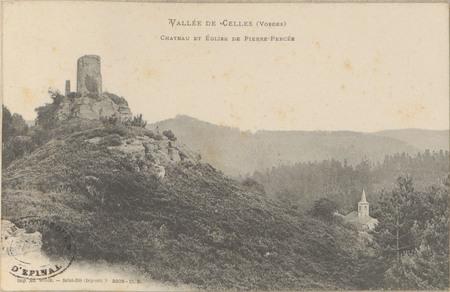 Vallée de Celles (Vosges), Château et Église de Pierre-Percée
