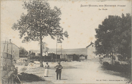 Saint-Michel-sur-Meurthe (Vosges), La Gare