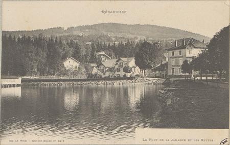 Gérardmer, le Pont de la Jamagne et les Xettes