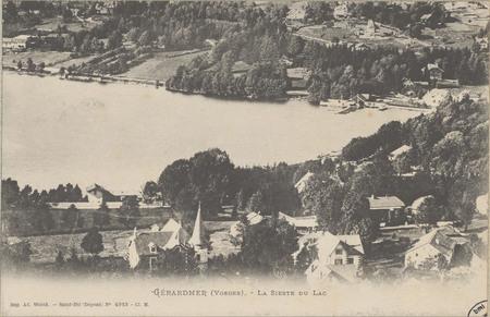 Gérardmer (Vosges), La Sieste du Lac