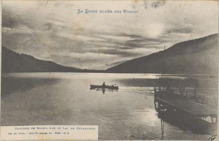 Coucher de Soleil sur le lac de Gérardmer