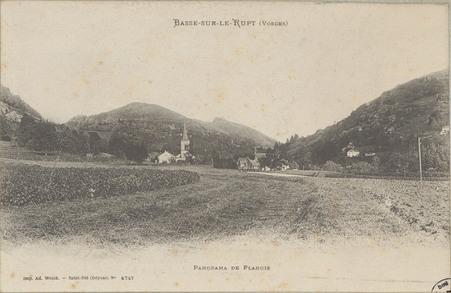 Basse-sur-le-Rupt (Vosges), Panorama de Planois