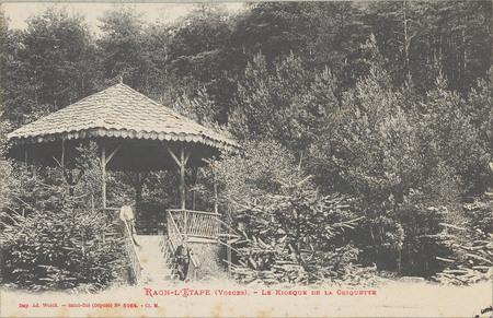 Raon-L'Etape (Vosges), Le Kiosque de la Criquette