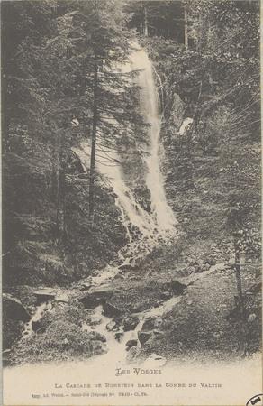 La cascade du Rundstein dans la Combe du Valtin