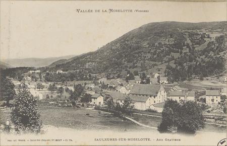 Vallée de la Moselotte (Vosges), Saulxures-sur-Moselotte, Aux Graviers