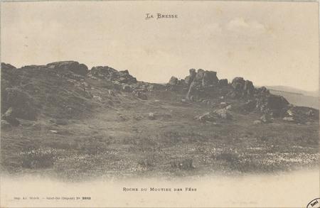 La Bresse, Roche du Moutier des Fées