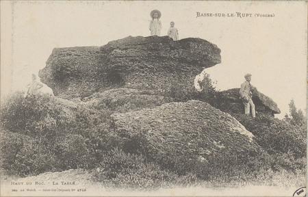 Basse-sur-le-Rupt (Vosges), Haut du Roc, La Table
