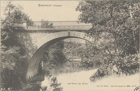Ferdrupt (Vosges), Le Pont de Saulx