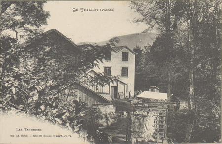 Le Thillot (Vosges), les Tanneries