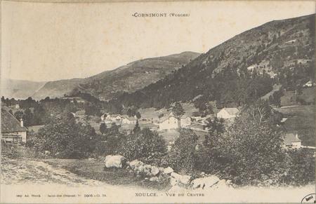 Cornimont (Vosges), Xoulce, Vue du Centre