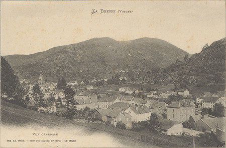 La Bresse (Vosges), Vue générale