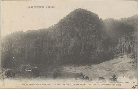 Gérardmer-La Bresse, Montagne de la Mereville, Au Col du Moutier-des-Fées