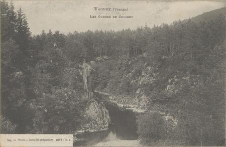 Vagney (Vosges), Les Gorges de Crosery