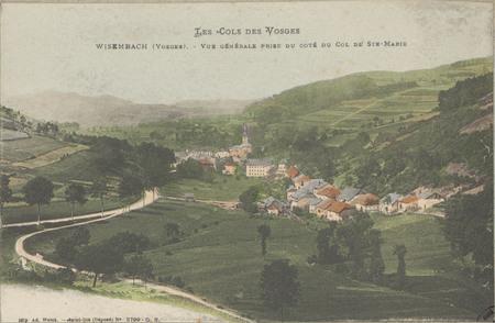 Wisembach (Vosges), Vue générale prise du côté du Col de Ste-Marie