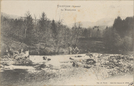 Thiéfosse (Vosges), La Moselotte