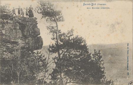 Saint-Dié (Vosges), Aux Roches d'Anozel
