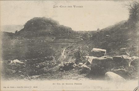 Au Col de Grosse Pierre