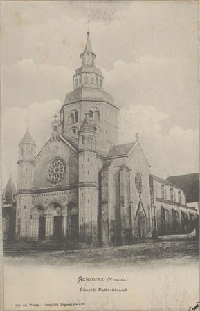 Senones (Vosges), Église paroissiale