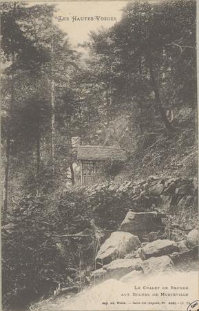 Le Châlet de refuge aux Roches de Morteville