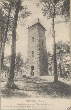 Bruyères (Vosges), Le Mirador sur la Tête de l'Avison